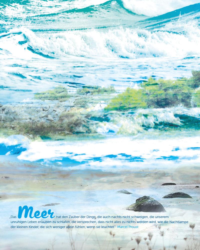 Meer-Fotografie-Malerei
